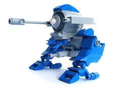 BM-G 23 'Blue Mohawk' - Gunner type | par Fredoichi