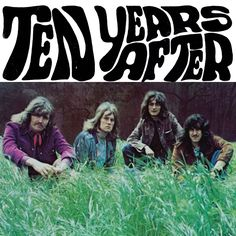 1966, Ten Years After, Nottingham England #TenYearsAfter #Nottingham (L3754)