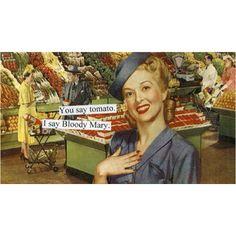 Retro Humor, Vintage Humor, Retro Funny, Retro Vintage, Vintage Vibes, Vintage Cards, Vintage Postcards, Vintage Kitchen, Vintage Ladies
