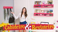 DIY - CABIDEIRO & REVISTEIRO / Móveis do Meu Quarto PARTE 3