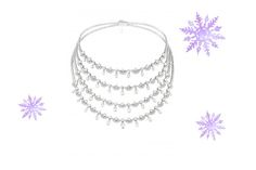 For the jewellery junkie.  Chopard A Splendid Diamond Necklace  We love: the web of shimmering diamonds.
