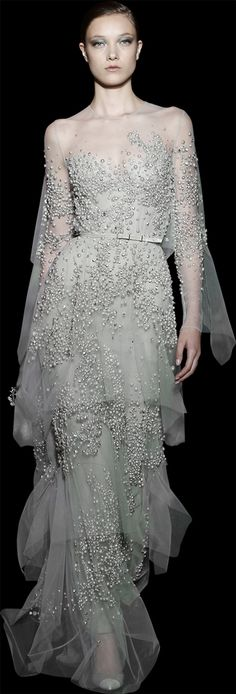 #ELIE #SAAB - #Haute #Couture - Fall Winter 2014-2015