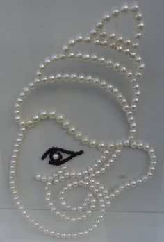 Lord Ganesha - White Pearl