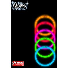 "40-Pack Halloween Glow 8"" Bracelet Accessory Party Rave Neon Light Sticks | Home & Garden, Holiday & Seasonal Décor, Halloween | eBay!"