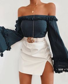 The mid-week selection of summer outfits to wear everyday. Enjoy the summer break with outfit ideas curated just for you. Teen Fashion Outfits, Mode Outfits, Look Fashion, Fashion Styles, Fashion Women, Edgy Summer Fashion, Gucci Outfits, Fashion Belts, Fashion Sandals
