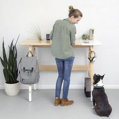 Using A Standing Desk Mat Has Proven Health Benefits. Find The Best Standing Desk Mat For Your Needs With Our New 2017 Top 10 Guide And Insider Tips Bureau Design, Furniture Direct, Furniture Companies, Best Standing Desk, Standing Desks, Stand Up Desk, Workspace Inspiration, Furniture Inspiration, Furniture Ideas