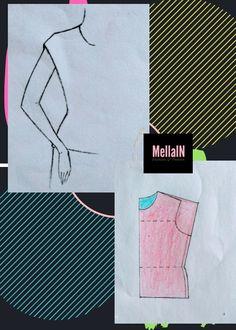 Pattern Drafting Tutorials, Skirt Patterns Sewing, Blouse Patterns, Clothing Patterns, Techniques Couture, Sewing Techniques, Sewing Lessons, Sewing Hacks, Drape Skirt Pattern