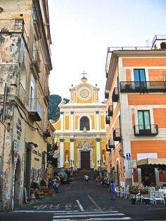 Church of Santa Trofimea, Minori (Amalfi Coast) (photo by Dan Lesnick)