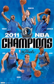 Dallas Mavericks NBA Champions 2011 - Trends Intl