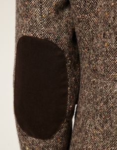 elbow patch #tweed