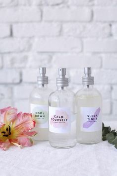 Three DIY Refreshing Face Mists