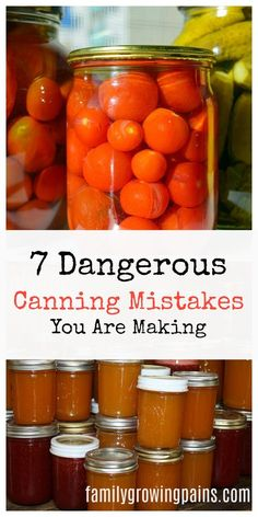 Women's Special: Four-Strategies Flowers Can Modify Your Working Day-To-Day Lifestyle 7 Dangerous Canning Mistakes You Are Making Are You Safely Canning Your Food? Ensure You Avoid These Mistakes So You Can Keep You And Your Family Safe Pressure Canning Recipes, Home Canning Recipes, Canning Tips, Pressure Cooking, Canning Soup, Canning Pickles, Canning Vegetables, Canning Tomatoes, Veggies