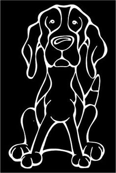 Do you love your Treeing Walker Coonhound? Then a dog decal from Decal Dogs is what you need to celebrate your best friend. Every Dog Has Its Decal! The decal measures 4 in. x 6 in. and can be applied