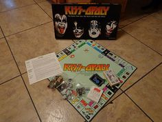 Kiss Opoly Rock Band Monopoly Board Game Look | eBay