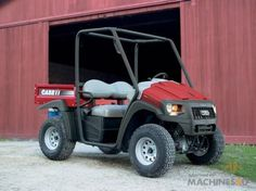 New Case IH Scout 4 x 4 Petrol Utility Vehicle - http://www.machines4u.com.au/browse/Farm-Machinery/