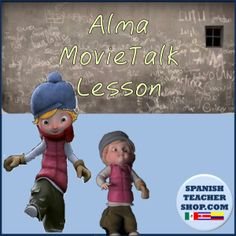 A four day lesson plan using the video Alma as a MovieTalk in your Spanish class.