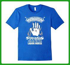 Mens Labor Nurse shirt 2XL Royal Blue - Careers professions shirts (*Amazon Partner-Link)