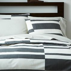 Offset Stripe Layered Bed Set