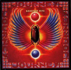 JOURNEY GREATEST HITS - ALBUM COVER
