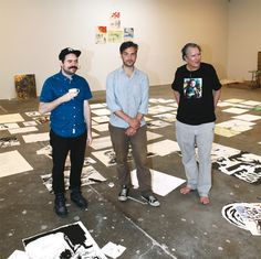An Interview with Marcel Dzama, as Raymond Pettibon Paints Nearby