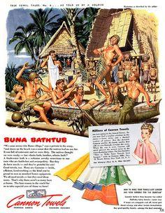 1944 ... canon (towels) beefcake!
