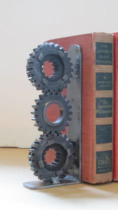 Harley Davidson Motorcycle Gear Bookends