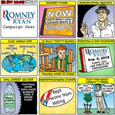 Daily Kos: Romney/Ryan campaign gear