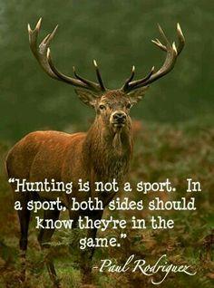 #Jagen ist kein Sport!!!