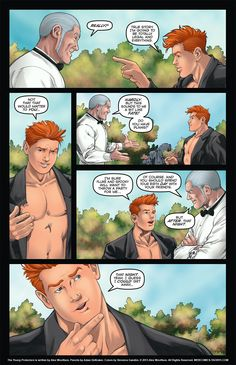 The Young Protectors: Engaging The Enemy Chapter One—Page 59 - Yaoi 911 Webcomics