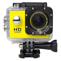 COOLER Unterwasserkameras 1.5 Zoll Full HD Sport Kamera 170 ° Weitwinkel Sport Action DV - http://kameras-kaufen.de/cooler/gelb-cooler-sj4000-wasserdichte-kamera-action-hd