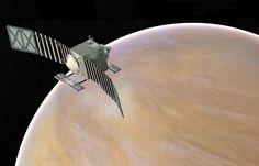 Veritas at Venus depiction (NASA)