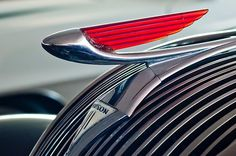 1937 Hudson Terraplane Sedan Hood Ornament