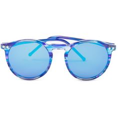 Wildfox Steff Deluxe Sunnies ($176) ❤ liked on Polyvore featuring accessories, eyewear, sunglasses, glasses, store, circular glasses, star eyewear, circular sunglasses, star glasses and wildfox sunglasses