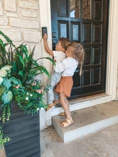 Ring Doorbell Assessment I've been compensated by QVC for this submit, however all thoug. Cute Family, Baby Family, Family Goals, Family Kids, Young Family, 3 Kids, Little Babies, Little Ones, Cute Babies