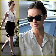 Olivia Wilde: 'The Third Person' Set!