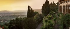 Belmond Villa San Michele, Florence, Italy - Luxury Hotel in Tuscany ... the video of Kim Kardashian going along these pathways in a white flowing robe while preparing for her wedding ceremony just showed how exquisite this hotel is. Amazing views