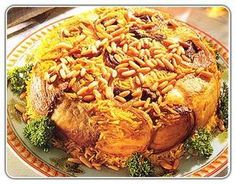 MAQLOUBEH PALESTINIAN RICE AND EGGPLANT CASSEROLE