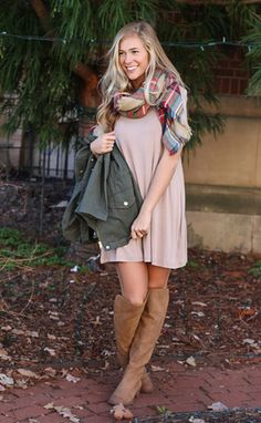 day date t-shirt dress - taupe