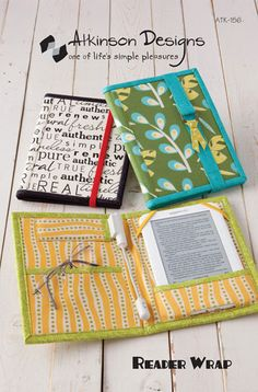 Reader Wraps tutorial & pattern