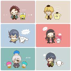 Doujinshi , ảnh Kimetsu no yaiba Anime Chibi, Kawaii Anime, Manga Anime, Anime Art, Anime Angel, Anime Demon, Anime Crossover, Demon Slayer, Slayer Anime