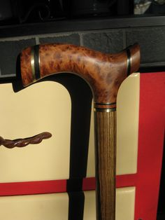 Thuya Burl Exotic Wood Walking Cane - Wooden Cane - Walking Cane - Walking Stick - Wood Cane - Wood. $265.00, via Etsy.