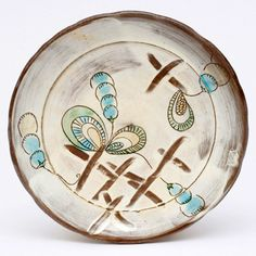 Lovely plate by Maria Dondero