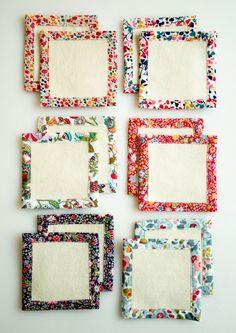 Corinne's Thread: New Year's Liberty Coasters
