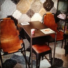 Beautiful tiles made in Greece by Tsourlakis tiles Concrete Tiles, Cement, Restaurant Design, Restaurant Bar, Handmade Tiles, Tile Floor, Dining Table, Flooring, Interior Design