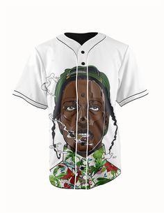 Asap Rocky White ... http://www.jakkoutthebxx.com/products/real-usa-size-asap-rocky-3d-sublimation-print-custom-made-white-button-up-baseball-jersey-plus-size?utm_campaign=social_autopilot&utm_source=pin&utm_medium=pin  #wanelo #shoppingtime #whattobuy #onlineshopping #trending #shoppingonline #onlineshopping #new