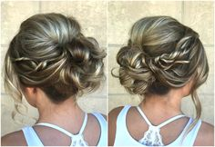 Elegant Up Do. Perfect for prom!