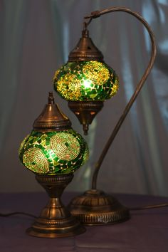 Magical lights by Byzantium, handcrafted Turkish Mosaic Lamps