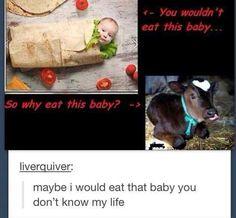 funny tumblr post hashtag  burrito baby