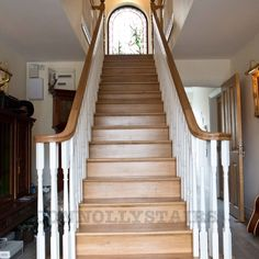 Oak Stairs, Home Decor, Interior Design, Home Interior Design, Home Decoration, Decoration Home, Interior Decorating
