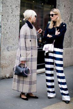Best Street Style at Milan Fashion Week Fall 2017 | POPSUGAR Fashion Photo 50